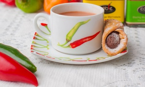 Edible Ornamentals: Chilli Chocolate Afternoon Tea with a Tasting Session for Two or Four at Edible Ornamentals