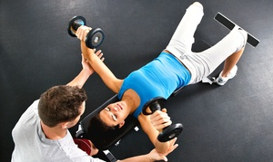 The Club-Fitness, Health & Spa: Two- or Three-Month Gym Membership with Personal Training at The Club-Fitness, Health & Spa (Up to 73% Off)