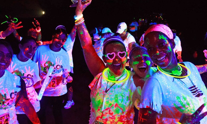 Color and Glow Run - Metrolina Tradeshow Expo: $25 for 5K Entry, Shirt, and Glow Gear at Color and Glow Run on October 11 (Up to $55 Value)