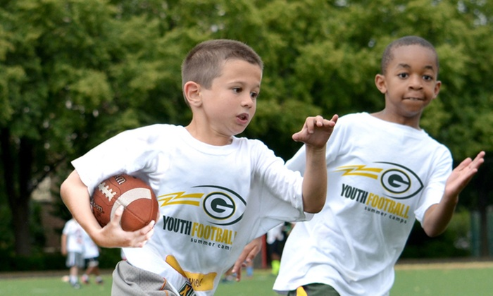 Green Bay Packers Youth Football Camp - Multiple Locations: Green Bay Packers Non-Contact Instructional Youth Football Camps, Five-Day Full or Half Day Option, Ages 6-14, 12 Locations.