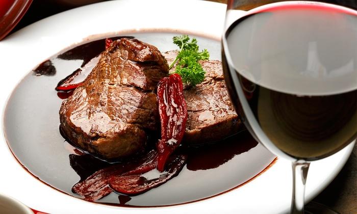 Ristorante Due Rose - Pinole: 46% for Two-Course Italian Dinner for Two at Ristorante Due Rose (Up to  $78.47 Total Value)