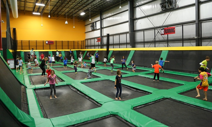 Rockin' Jump - Northeastern San Diego: One-Hour Jumping Experience for One, Two, Four, or Six People at Rockin' Jump (Up to 35% Off)