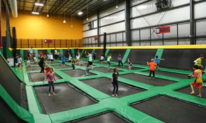Rockin' Jump: One, Two, Four, or Six Jump Passes or Weekday Birthday Party at Rockin' Jump (Up to 50% Off)
