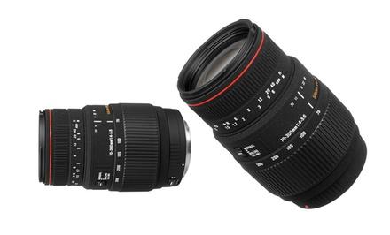 Sigma 70–300mm F4–5.6 DG Macro Lens for Nikon, Canon, or Sony