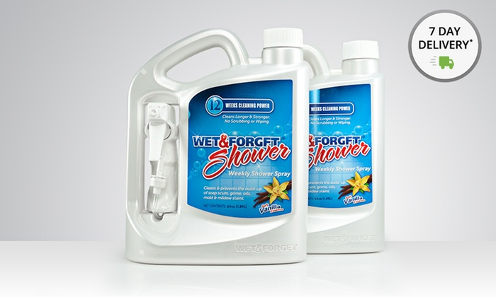 2-Pack of Wet & Forget Weekly Shower Spray: 2-Pack of 64 Fl. Oz. Wet & Forget Weekly Shower Spray. Free Returns.