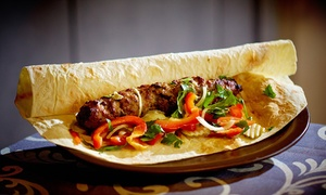 Jazzve: Ormiańska uczta: zestaw dań dla 2 osób za 45 zł i więcej opcji w restauracji Jazzve (-36%)