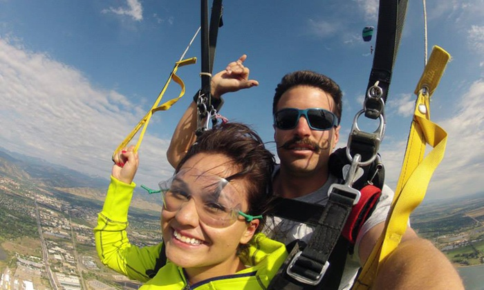 Roaring Fork Skydivers - Glenwood: Tandem Skydive Jump for One or Two People from Roaring Fork Skydivers (Up to37% Off)