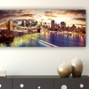 """14""""x48"""" Panoramic Cityscapes on Canvas"""
