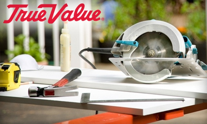 Howard Brothers True Value Hardware - Multiple Locations: $25 for $50 Worth of Hardware Supplies at Howard Brothers True Value Hardware (Half Off)