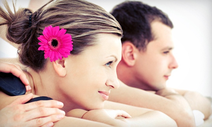 On The Spot Massage Therapy - South Central Omaha: $65 for a One-Hour Couples Mini Hot-Stone Massage at On The Spot Massage Therapy ($130 Value)