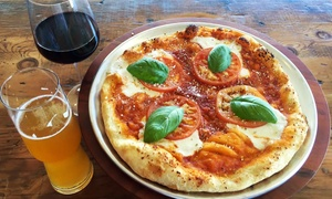 Capicola's Gourmet Sandwich Co.: Pizza and Drinks for One or Two at Capicola's Gourmet Sandwich Co. (Up to 57% Off). Four Options Available.