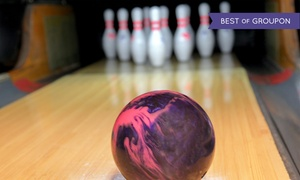 20th Century Lanes: One or Two Hours of Bowling for Up to Six People at 20th Century Lanes (64% Off)