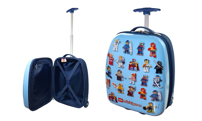 LEGO MiniFigures Hard Side Rolling Kids Luggage | Groupon