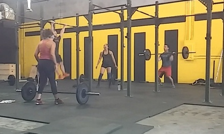 Up to 69% Off 1-month of crossfit classes at Caffeinated CrossFit