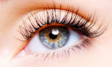 Full Set of Eyelash Extensions with Optional Fill with Laura Warren at Salon Sabeli (45% Off)