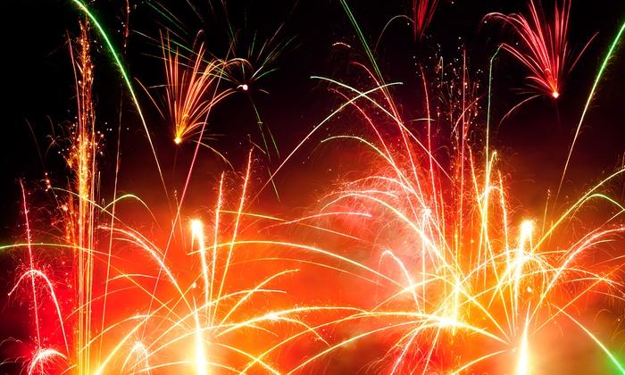 Kaboom Fireworks - Multiple Locations: C$9 for a Lightning Bolt Fireworks Package from Kaboom Fireworks (C$33 Value)