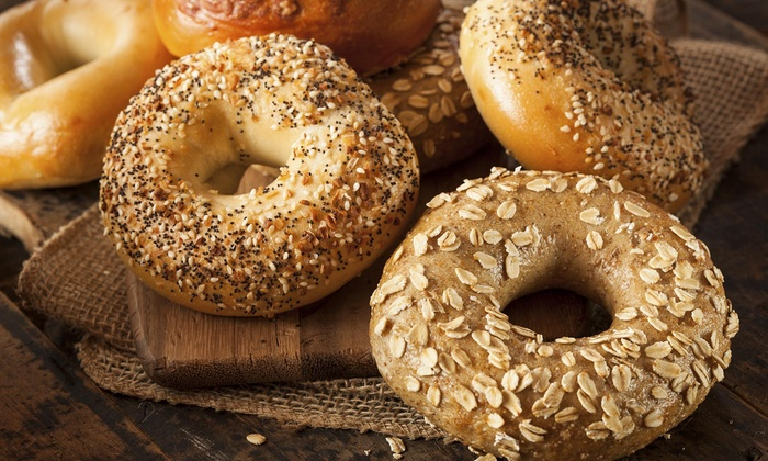 West Coast Bagels - Tigard Neighborhood Area 3: Two Drip Coffees  with Purchase of 6 Bagels at West Coast Bagels