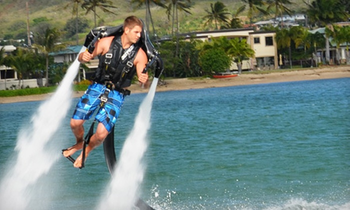 H2O Sports Hawaii - Hawaii Kai Shopping Center: $149 for a Jetlev Jetpack Flight Experience from H2O Sports Hawaii ($299.99 Value)