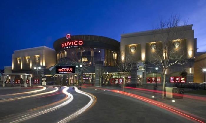 Muvico Thousand Oaks 14 - Muvico Theaters Thousand Oaks 14: Premier Seating for Two with Optional Appetizer and Bottle of Wine at Muvico Thousand Oaks 14 (Up to 49% Off)