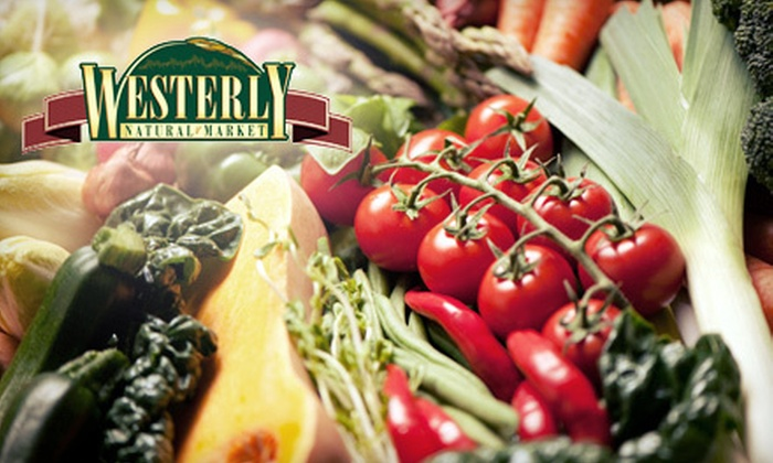 Westerly Natural Market - Clinton: $15 for $30 Worth of Organic Groceries, Supplements, and Body Products at Westerly Natural Market