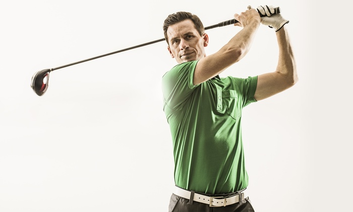 Divots Golf Shop - Divots Golf Shop: 18-Hole Golf Simulator with Sandwiches and Drinks for One, Two, or Four at Divots Golf Shop (Up to 53% Off)