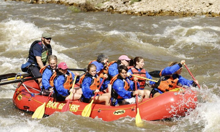 Colorado Adventure Center - Golden Gate Canyon: Beginner Whitewater-Rafting Trip for One, Two, or Four at Colorado Adventure Center (30% Off)