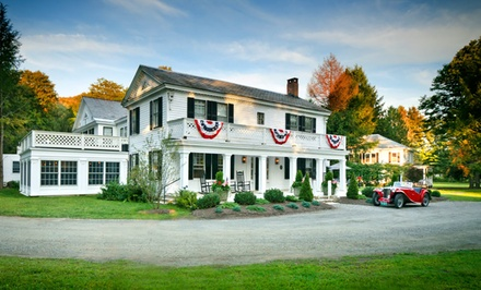 Groupon Deal: 2-Night Stay for Two at Barrows House in Dorset, VT