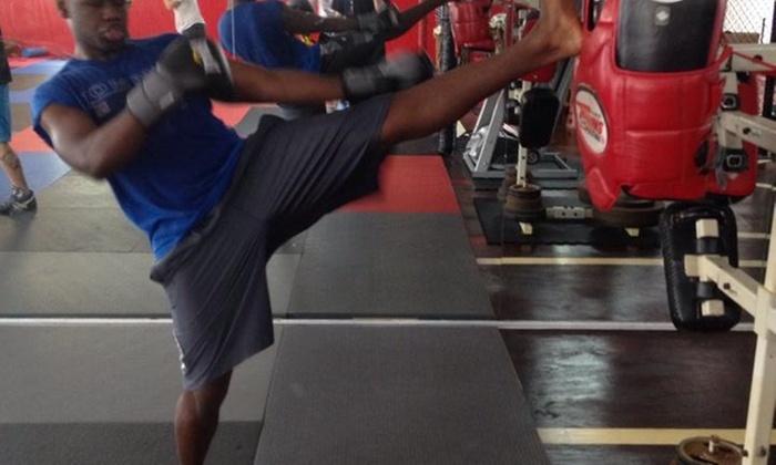 Kenel the Kickboxer - Hallandale Beach: $23 for $75 Groupon — Kenel the Kickboxer