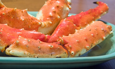 Crab Legs or Shrimp with Soft Drinks and Sides for Two or Four at Supreme Fish Delight (Up to 53% Off)