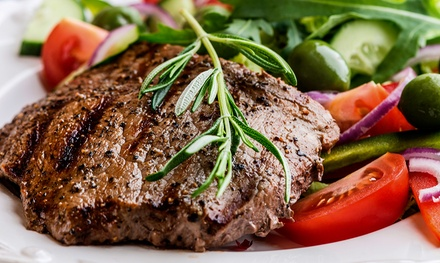 Steak and Seafood for Two or Four at The Poplar Inn (Up to 51% Off)