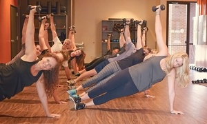100% FIT: 6 Fitness Classes or One Month of Unlimited Fitness Classes at 100% FIT (Up to 66% Off)