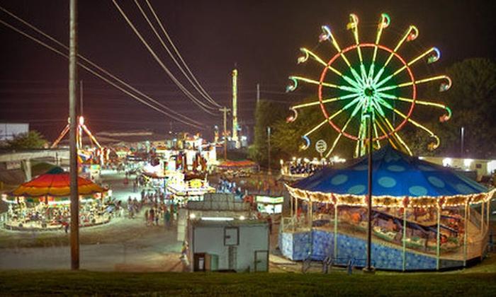 Williamson County Fair - Franklin: Williamson County Fair Packages for August 3–11 (Half Off). Four Options Available.
