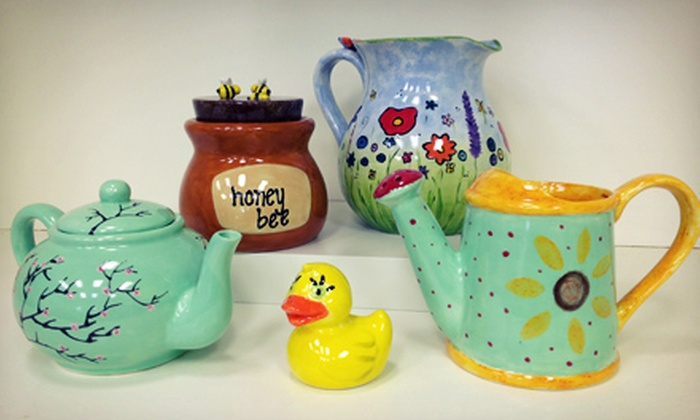 Art on Fire - Georgetown: $20 for $40 Worth of Pottery Painting for Two or More at Art on Fire