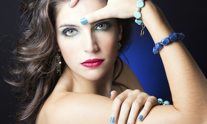 The Hair Lounge - Woodland: No-Chip Manicure and Pedicure Package from THE HAIR LOUNGE (50% Off)