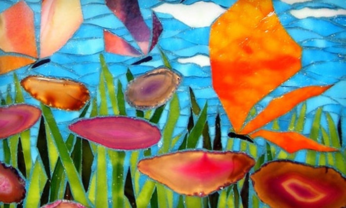 Glass Shack Studio - Ann Arbor: Mosaic Workshops at Glass Shack Studio (Up to 56% Off). Four Options Available.