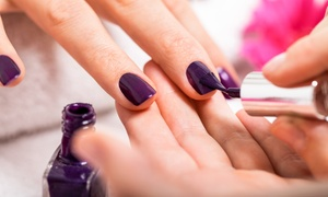 Spa Nail City: Pedicure or Classic Manicure and Pedicure at Spa Nail City