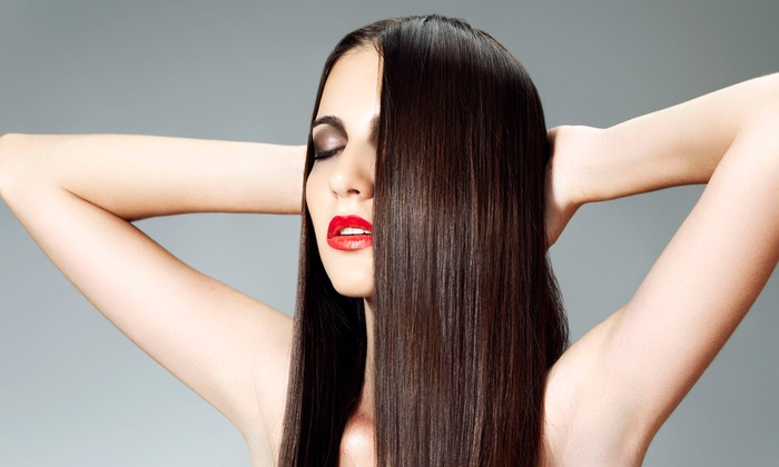 Salon Indigo - Jonesboro: Haircut, Blowout, and Style with Option for Full Highlights, or a Full Set of Extensions at Salon Indigo (50% Off)