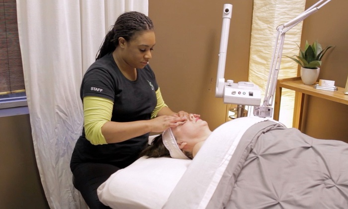 The Skin Spa Of Wake Forest and Raleigh - Multiple Locations: $115 for a Spa Package with Massage and Facial at The Skin Spa Of Wake Forest and Raleigh ($115 Value)