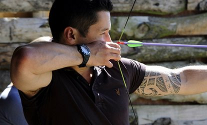 image for Archery and Air Rifle Session for One, Two or Four at GTS Adventure (Up to 73% Off)