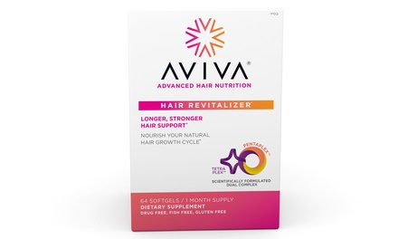 Aviva Hair Revitalizer Soft Gel Supplement (64-Ct.)