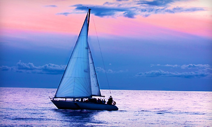 Dauntless Sailing School - Geist Lake Marina: $95 for Evening Sail for Two on Geist Reservoir from Dauntless Sailing School ($190 Value)
