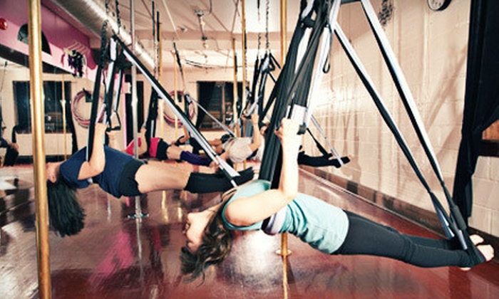 Brass Vixens - Trinity - Bellwoods: Four- or Eight-Week Aerial-Fitness Class at Brass Vixens (Up to 65% Off)
