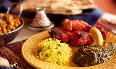 Indian Cuisine and Drinks at Copper Pot Indian Grill (Up to 43% Off)