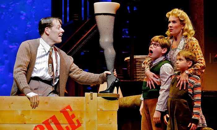 """""""A Christmas Story, The Musical"""" - The Theater at Madison Square Garden: """"A Christmas Story, The Musical"""" at The Theater at Madison Square Garden on December 18–29 (Up to 41% Off)"""