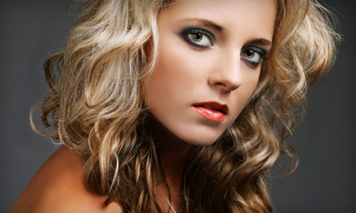 Salon Balance - St. Augustine: Blow-Dry with Deep Conditioning and Full Highlights or Haircut and Partial Highlights at Salon Balance (Half Off)
