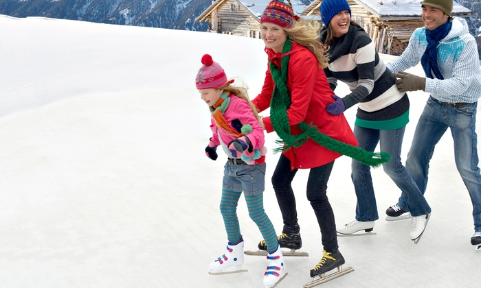 ICE at The Parks - The Parks At Arlington: Ice Skating with Skate Rentals for 2, 4, or 10 at ICE at The Parks in Arlington (Up to 59% Off)