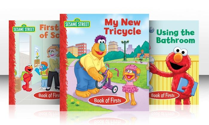 Sesame Street Firsts 8-Book Bundle: Sesame Street Firsts 8-Book Bundle
