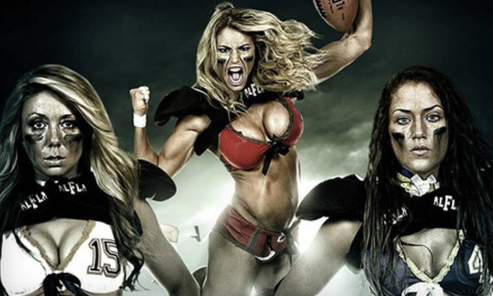 Chicago Bliss - Hoffman Estates: Chicago Bliss Legends Football League Game at Sears Centre Arena on April 19, May 10, or Both Dates (Up to 53% Off)