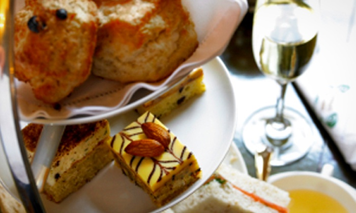 Burnhouse Manor Hotel - Non-Accommodation - Beith: Afternoon Tea With Glass of Bubbly For Two (£14) or Four (£27) at Burnhouse Manor Hotel (Up to 56% Off)