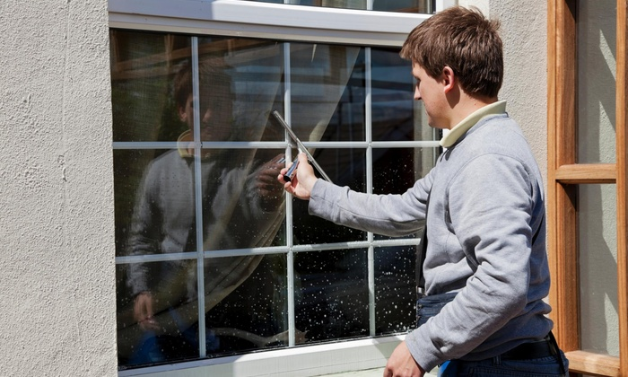 McQUeen Clean Window Cleaning - Charlotte: One Hour of Window Cleaning from McQueen Clean Window Cleaning (51% Off)